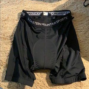 Never worn women's padded bike shorts
